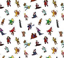 Pattern plus random by Konidraws