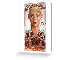 Small Bottles Greeting Card