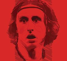 World Cup Edition - Luka Modric / Croatia by Milan Vuckovic