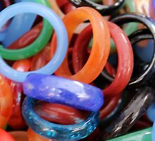 colorful rings as background by spetenfia