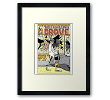 The Walking Drove Framed Print