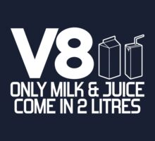 V8 - Only milk & juice come in 2 litres (1) Kids Clothes