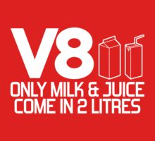 V8 - Only milk & juice come in 2 litres (1) by PlanDesigner
