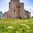 Doune Castle by Walter Quirtmair