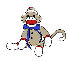 Sock Monkey by BarbaraCleland