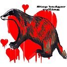 stop badger culling by patricia shrigley