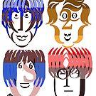 Typortraiture The Beatles by sethworx
