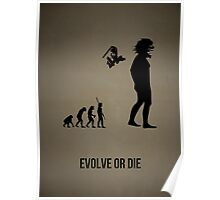 Evolve or Die v1 Poster