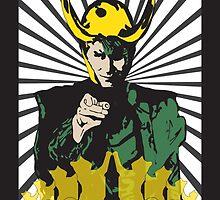 Loki's Army Propaganda by graphicdisaster