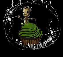 I am Delicious by AllMadDesigns