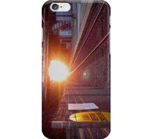 Sun Rise on the Tracks iPhone Case/Skin