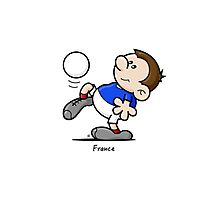 2014 World Cup - France Photographic Print