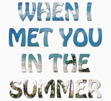 When I Met You in the Summer by alawn1