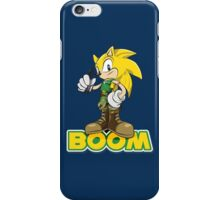 Sonic Boom iPhone Case/Skin
