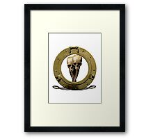 Snaking Through A Pirate View Framed Print