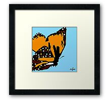 Welcome Autumn Butterfly #2 Framed Print