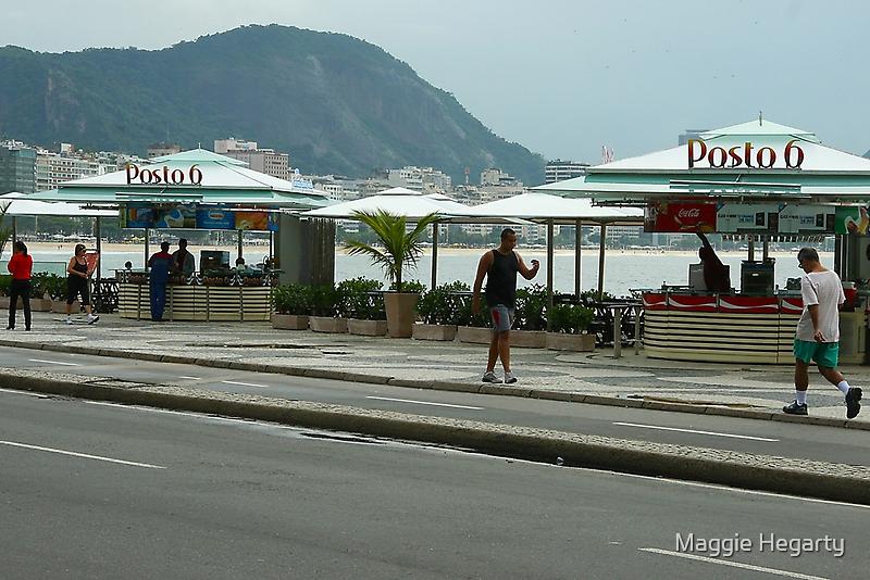 Posto 6, Copacobana beach by Maggie Hegarty