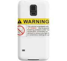VTEC Warning Sticker, T-shirt, Phone Case Samsung Galaxy Case/Skin