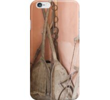 old tools on the farm iPhone Case/Skin