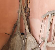 old tools on the farm by spetenfia