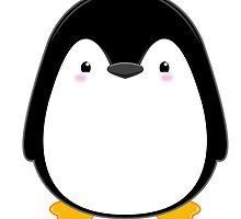 Cute Kawaii Penguin by billiekeeses