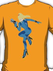 Zero Suit Samus Vector T-Shirt