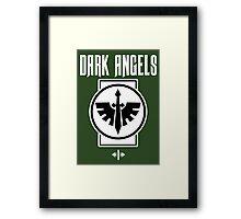 Dark Angels I - Warhammer Framed Print