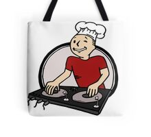 BeatChef in Red Tote Bag