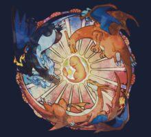 Charizard Mega Evolution by ochosi
