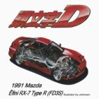 Ẽfini RX-7 Type R (FD3S) Illustration by benyuenkk