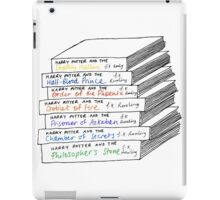 Harry Potter Book Stack iPad Case/Skin