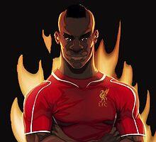 Mario Balotelli - Liverpool by martdude
