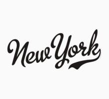 New York Script Black Kids Clothes