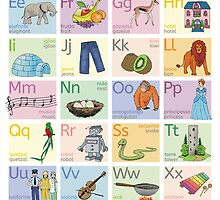 The Little Linguist's Alphabet (Italiano-English) by Love Your Lingo