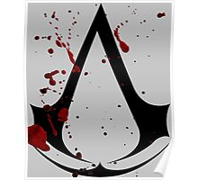 Assassins creed logo with gore! Poster