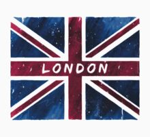 London British Union Jack Flag T-Shirt