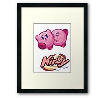 Kirby Framed Print