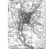 Vintage Map of Cairo Egypt (1911) iPad Case/Skin