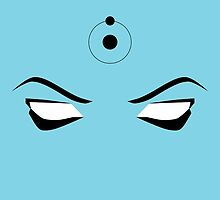 Doctor Manhattan i love your eyes by Paumakemake