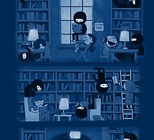 Silence in the Library by Queenmob