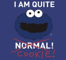COOKIE MONSTER TEE SHIRT (WHITE TEXT) T-Shirt