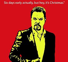 Eddie Izzard Christmas by DJVYEATES
