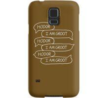 Hodor - I Am Groot Samsung Galaxy Case/Skin