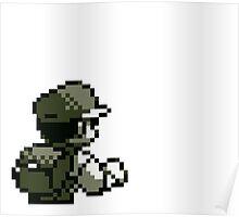 Retro Pokemon Trainer Poster