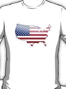 USA Country Flag Logo T-Shirt