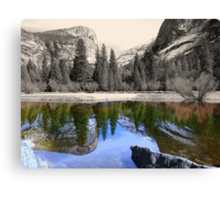 Yosemite - Mirror Lake Canvas Print