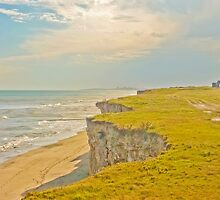 Lonely Beach with Barranco by DFLCreative