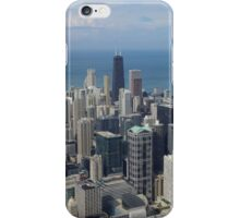 A view of the Windy City iPhone Case/Skin