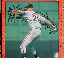 194 - Mike LaCoss by Foob's Baseball Cards