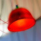 The red Lamp by Angelika  Vogel